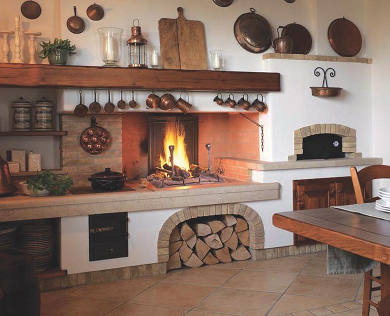 Un camino polyflam modulare e personalizzabile energie - Camino per cucinare ...