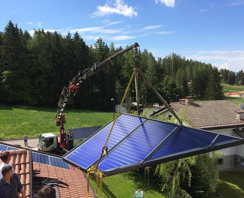 Pannello Solare Termico Edn : Pannelli solari termici per acqua calda sanitaria