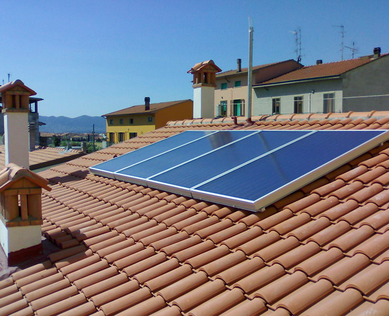 Pannello Solare Termico Come Funziona : Pannelli solari termici per acqua calda sanitaria