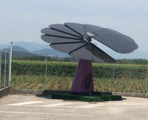 Pannelli fotovoltaici ad albero che si possono installare anche in giardino, o terrazzo, e si possono trasportare in caso di trasloco