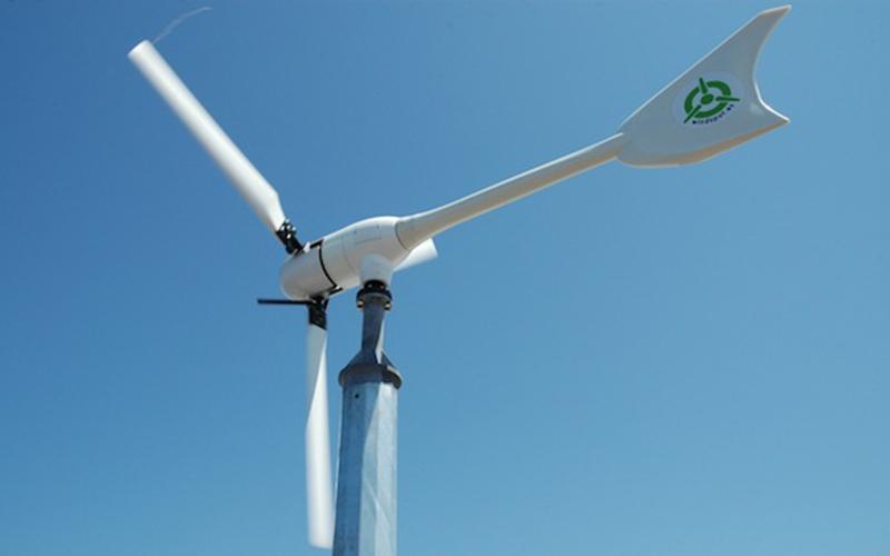 Con l'energia eolica potete produrre l'energia per alimentare la casa