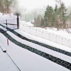Sistemi scioglineve e ghiaccio per esterno