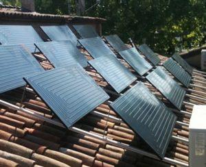 Impianto solare termodinamico produce acqua calda per un intero condominio