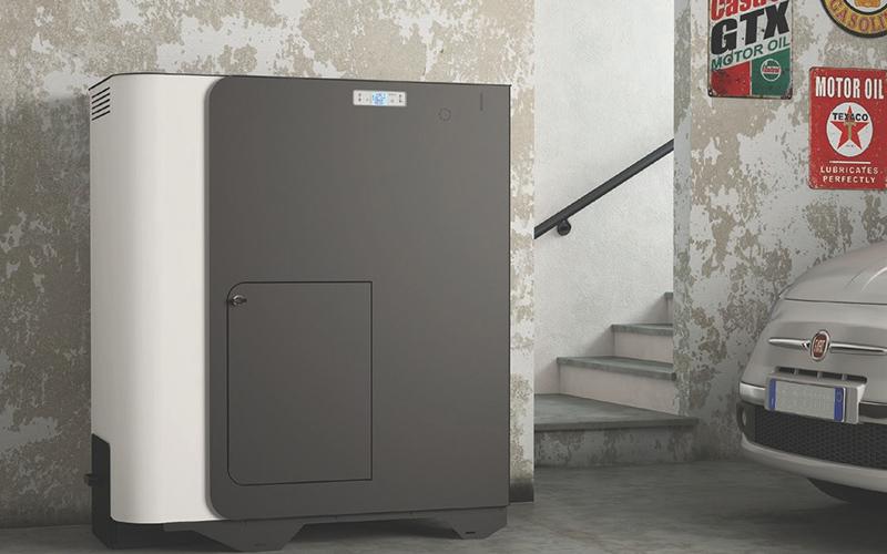 Le Caldaie Policombustibili, idro o ad aria, possono essere installate anche in locali tecnici