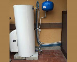 Il solare termodinamico consente di avere a disposizione costante acqua calda a 55-60 °C per il consumo termo-sanitario
