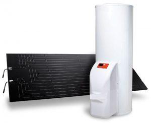 Il Solare termodinamico fornisce acqua calda sanitaria giorno e notte