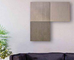 I radiatori elettrici a soffitto o a parete possono essere modulari e non necessitano di collegamenti idraulici