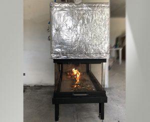 Il termocamino è adatto per cucinare sulla brace