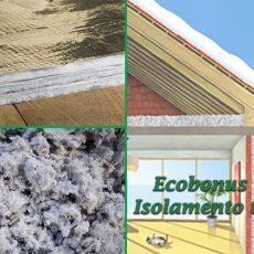 ECOBONUS edilizio 110%: Isolamento termico edifici