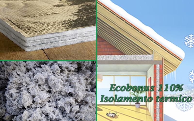 Recupera il 110% dell'importo investito per l' isolamento termico della tua abitazione